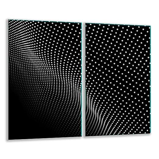 Placa protectora de vitrocerámica 2 x 30 x 52 cm 2 piezas ...