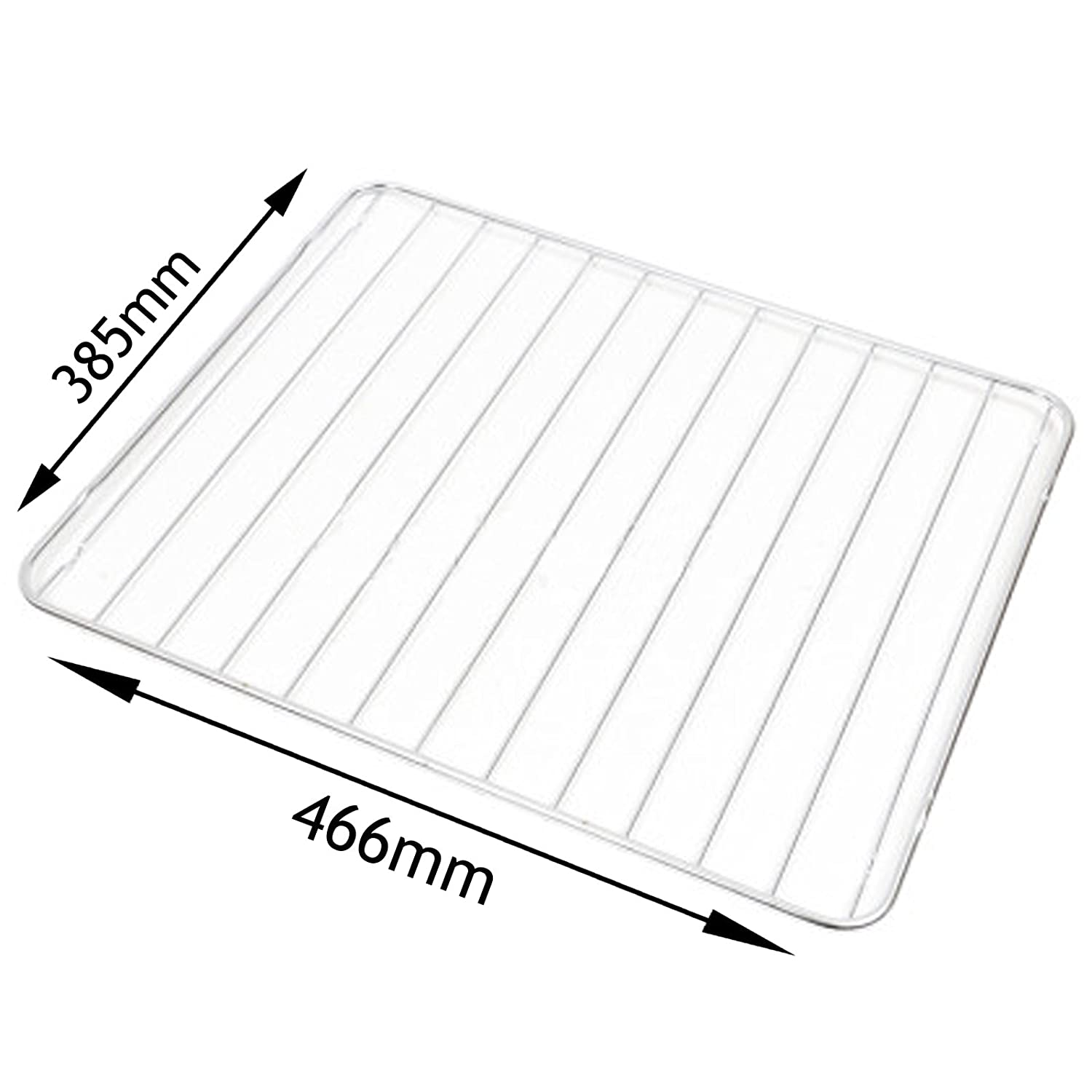 SPARES2GO Shelf for Electrolux Oven Grill Cooker (466 x 385mm)