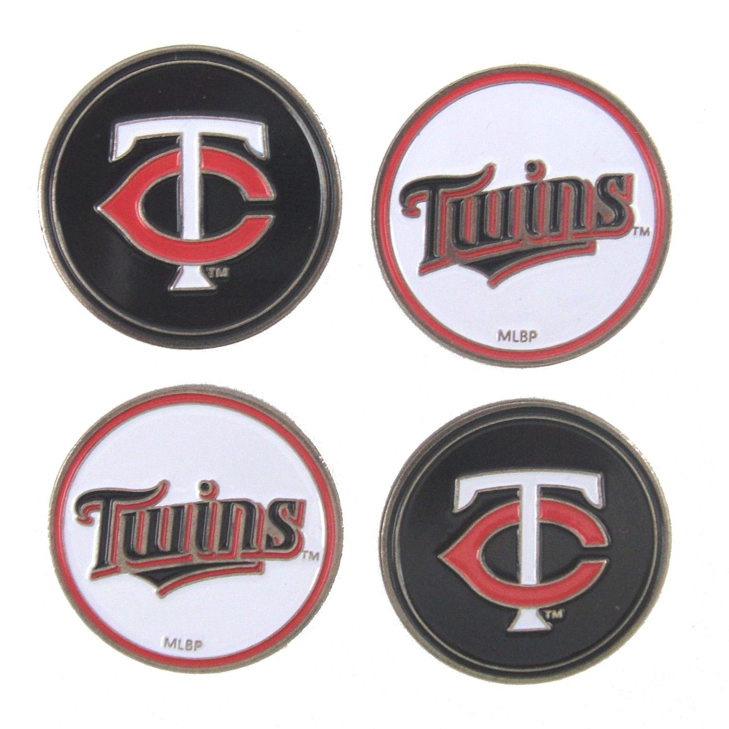 Minnesota Twins Golf Ball Markers ( 4 Pack )   B07895D7D3