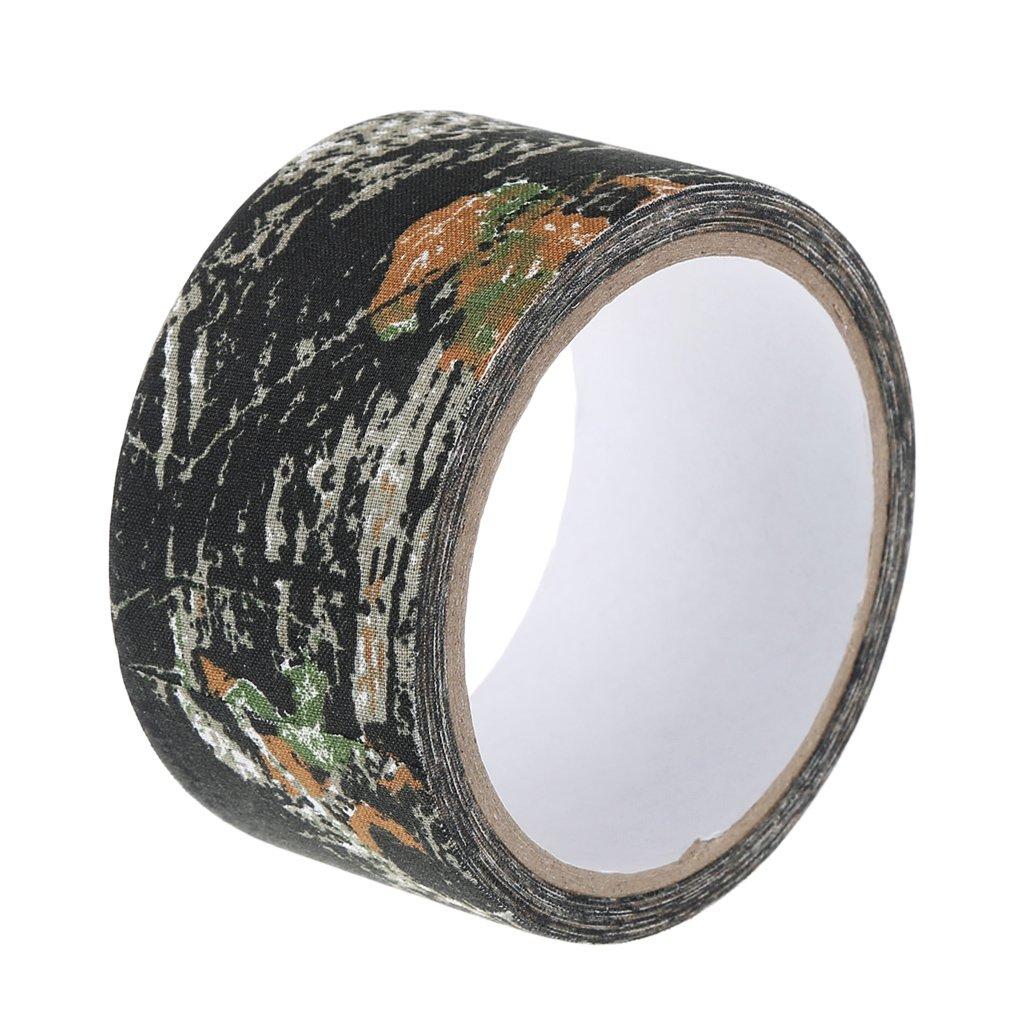 Bhty235 dise/ño de camuflaje bi/ónico Cinta adhesiva decorativa de 5 cm x 5 m