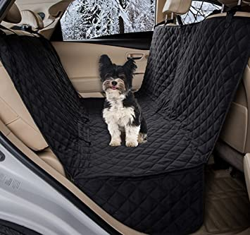 Medium image of zq waterproof diamond quilted bench seat cover car seat protector hammock  pet hammock seat cover