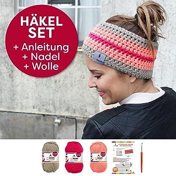 Myboshi Häkelset Für Stirnband Amami Inkl Wolle Häkelnadel