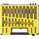 raysen 150pièces mini HSS Sets de forets métal HSS drillbohrer spriral 0,4–3.2mm
