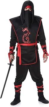 Karnival Costumes - Disfraz de Ninja para Hombre: Amazon.es ...