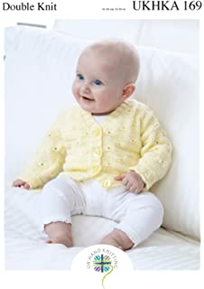 King Cole Baby Cardigans /& Waistcoat Comfort Prints Knitting Pattern 4622 DK