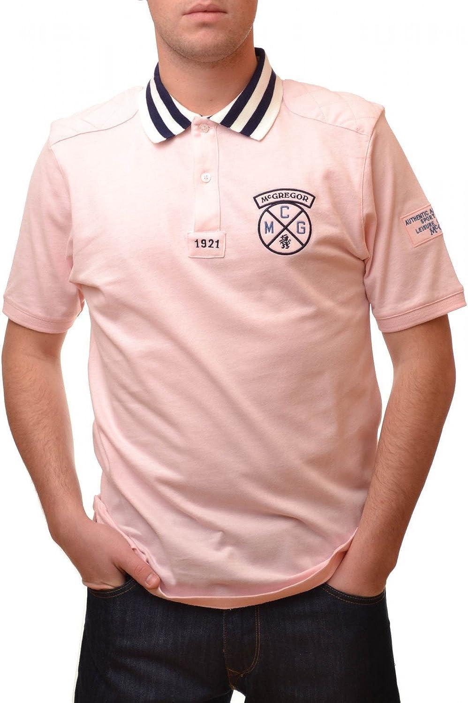 McGregor Polo Rosa Ryan Knock para Hombre Rose XL: Amazon.es: Ropa ...