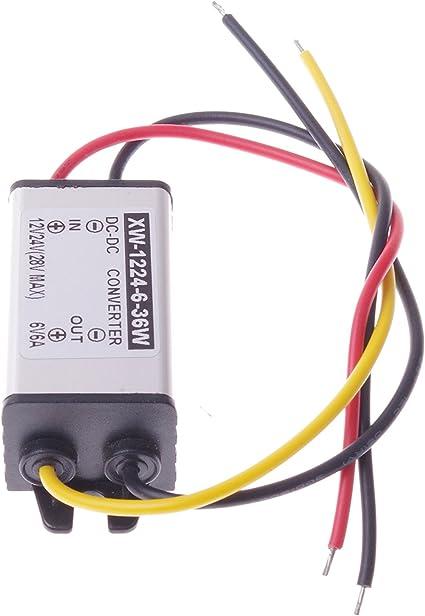 12V to 6V DC-DC Converter Step Down Module Power Supply Volt Regulator J/&HY