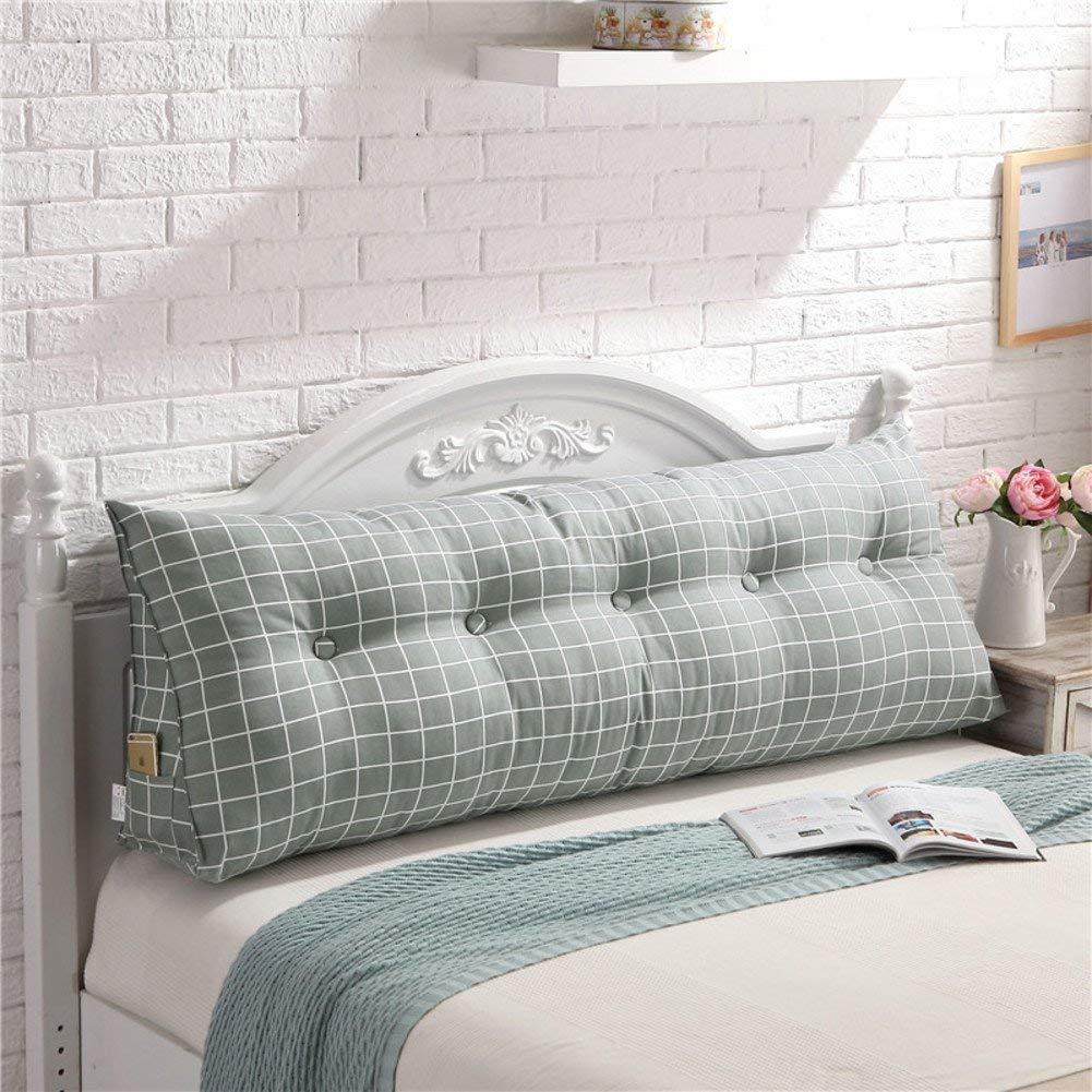 JIANHEADS ベッドサイド三角くさび読書枕、背もたれクッションマットクッション取り外し可能背もたれポジショニングサポート枕 (Color : C, サイズ : 200x20x50cm(79x8x20inch)) B07SBSGN86