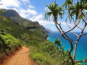 Gifts Delight LAMINATED 32x24 inches Poster: Napali Coast Kauai Nawiliwili Nature Hawaii Landscape National Park Hiking Trail