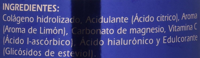 GSN Colageno, Magnesio, Vitamina C y Acido Hialuronico, sabor limon, 340 g: Amazon.es: Salud y cuidado personal