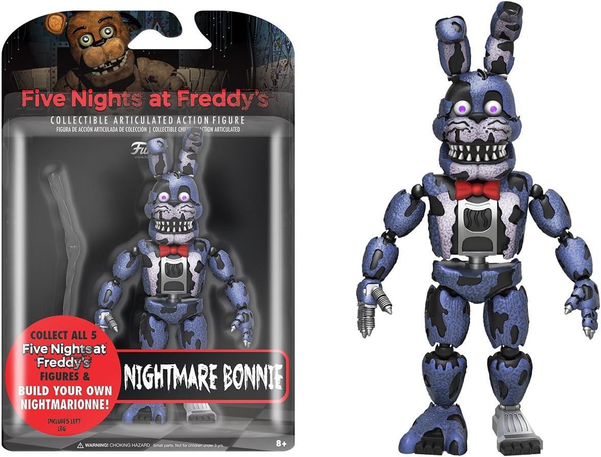 Five Nights At pesadilla Bonnie Acción Figura Coleccionable Articulado