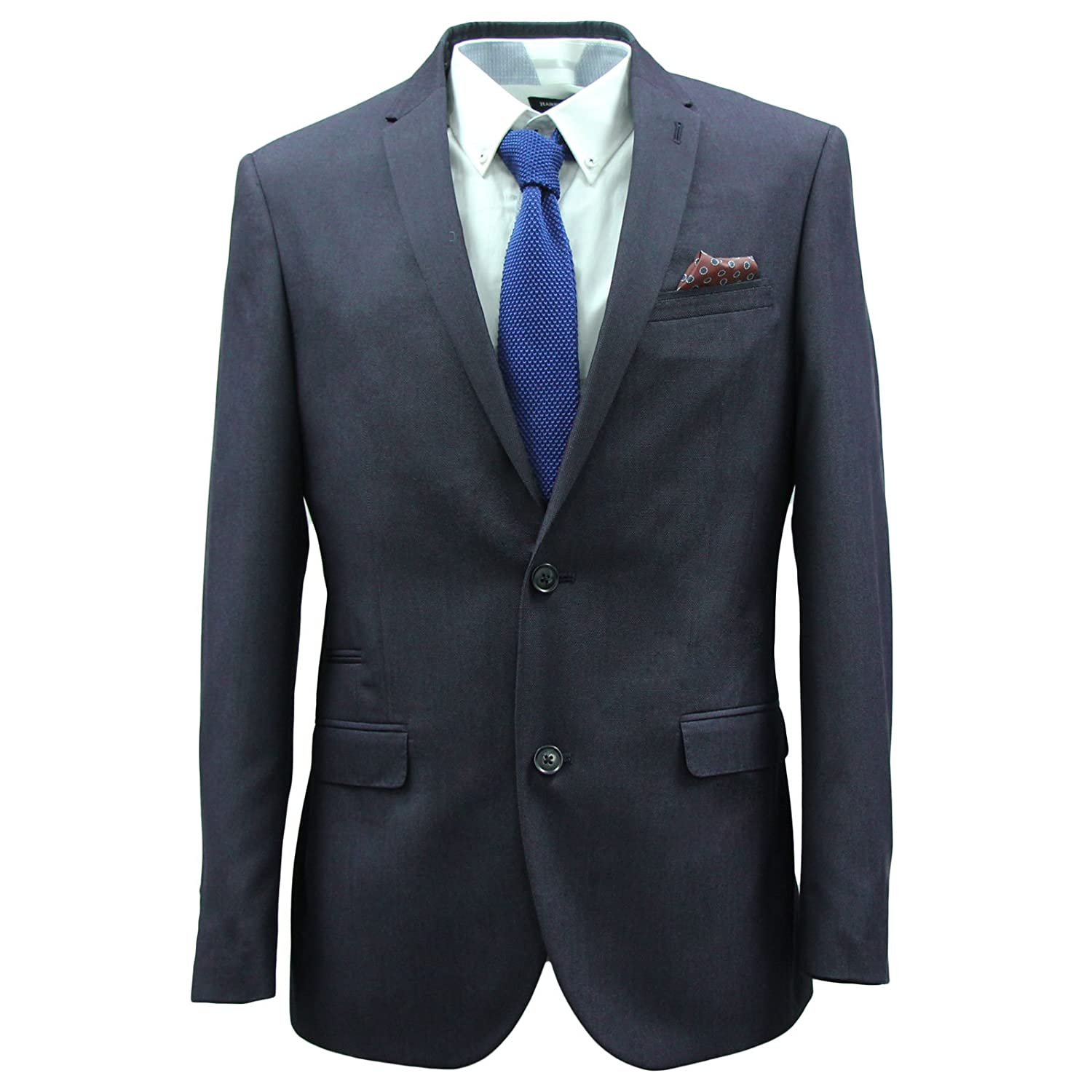 HARRY BROWN Men's 2 Piece 2 Button Tailored Fit Suit hot sale