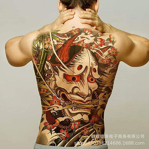 tzxdbh 3Pcs-New [91 Opcional] Pegatinas de Tatuaje de Espalda ...