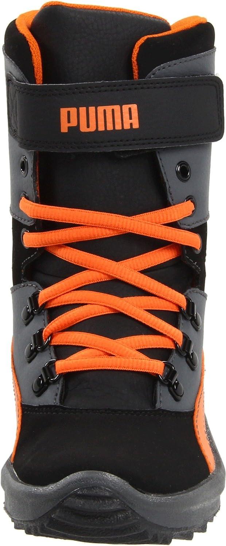 PUMA Toddlers Niveus Kids Black Orange High Top Sneakers Size 4 5 6 7 10
