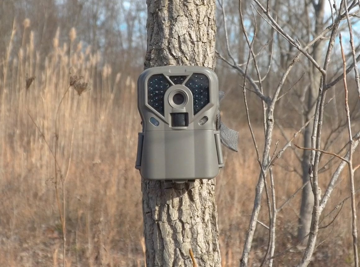 The Exodus Trek Trail Camera | .7 Second Trigger Speed, Black Flash Game Camera, Photos | Life's A Passion Pursue It
