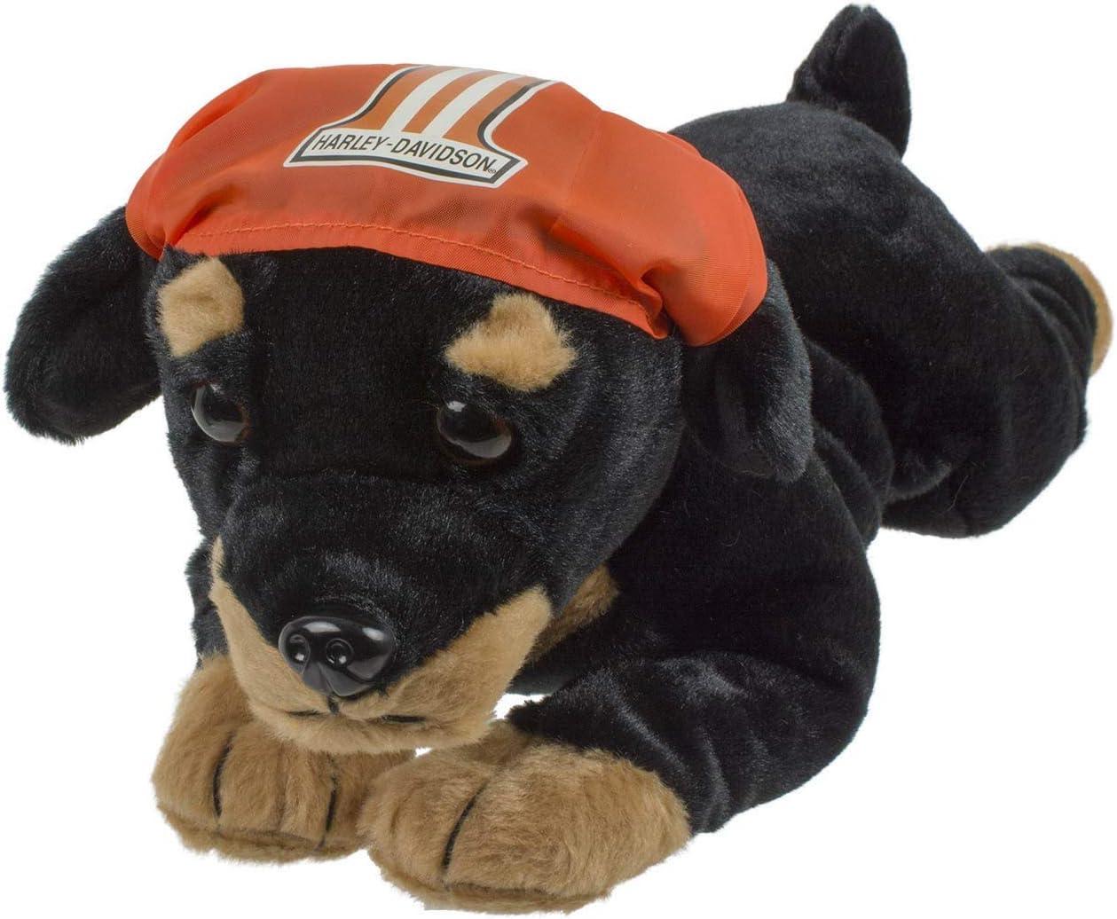 Harley-Davidson Rebel 14 in Black /& Orange 9950853 Rottweiler Cuddle Bud Dog