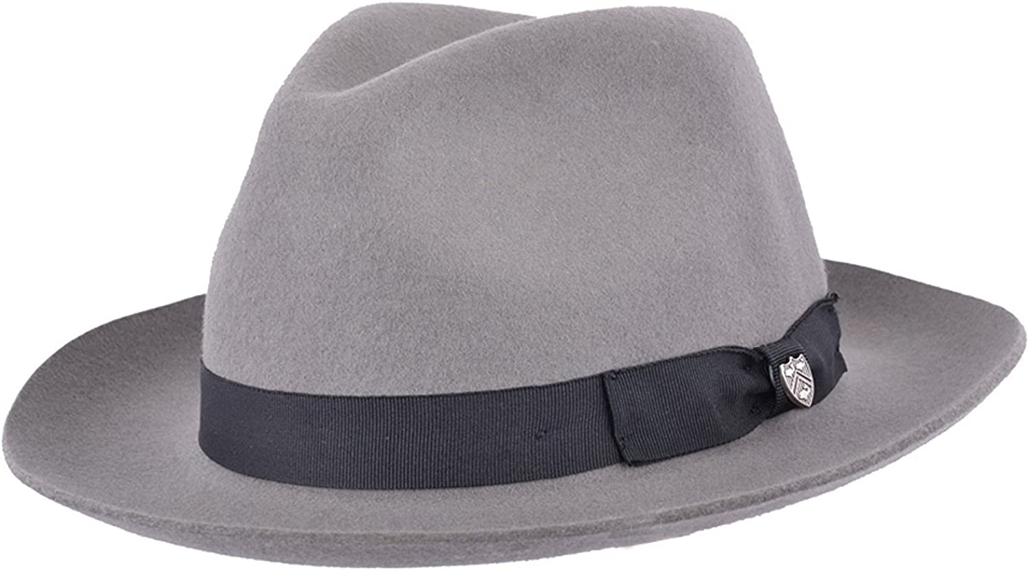 Gladwin Bond Quality Hand Made Fedora Trilby Hat with Matching Band 100/% Wool