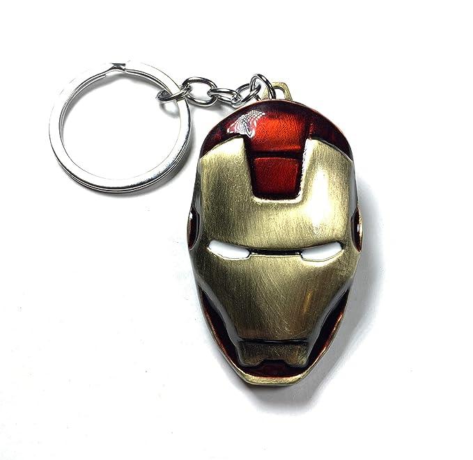 Amazon.com: DeltaHalo - Llavero con máscara de hierro para ...