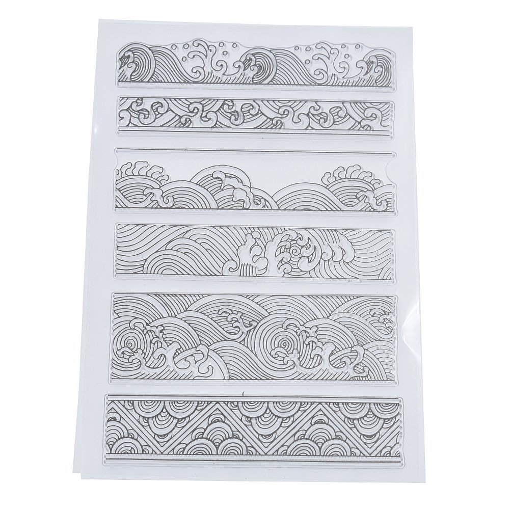 Towashine Christmas Stockings Holiday Design Clear Stamp for Card Making Decoration and Scrapbooking