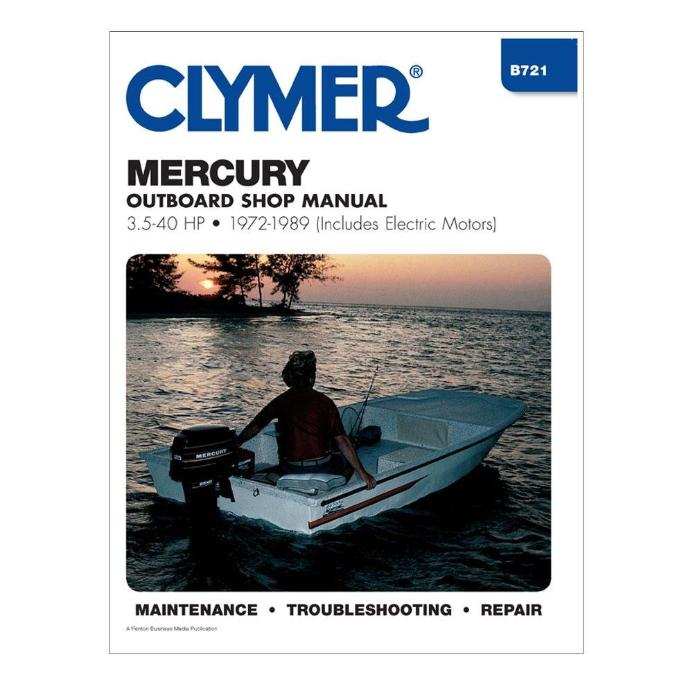 Amazon.com : Mercury Outboard Shop Manual 3.5-40 Hp 1972-1989 (Includes  Electric Motors) [Paperback] [1989] 5th Ed. Randy Stephens : Sports &  Outdoors