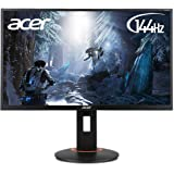 Acer XF240H, Monitor (Mhl, Dp, FHD1920 X 1080, 1Ms Gtg, 144Hz (Dp), 350 Nits, in Hoogte Verstelbaar, Pivot, Nvidia G-Sync C), 61 Cm (24 Inch), Zwart