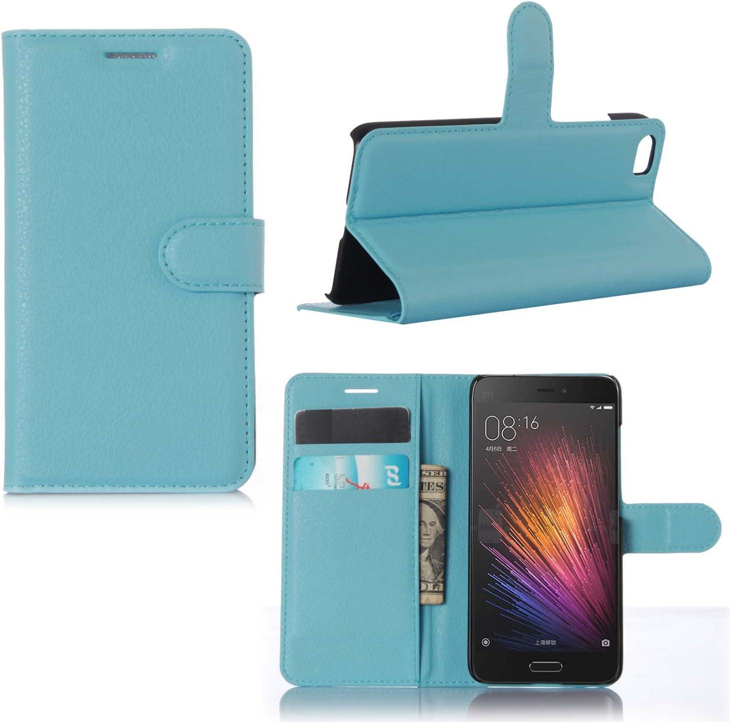 Guran® Funda de Cuero Para Xiaomi Mi5 Smartphone Tirón de la ...
