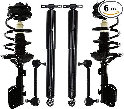 Automotive Complete Assemblies Set of 4 Front Complete Struts ...