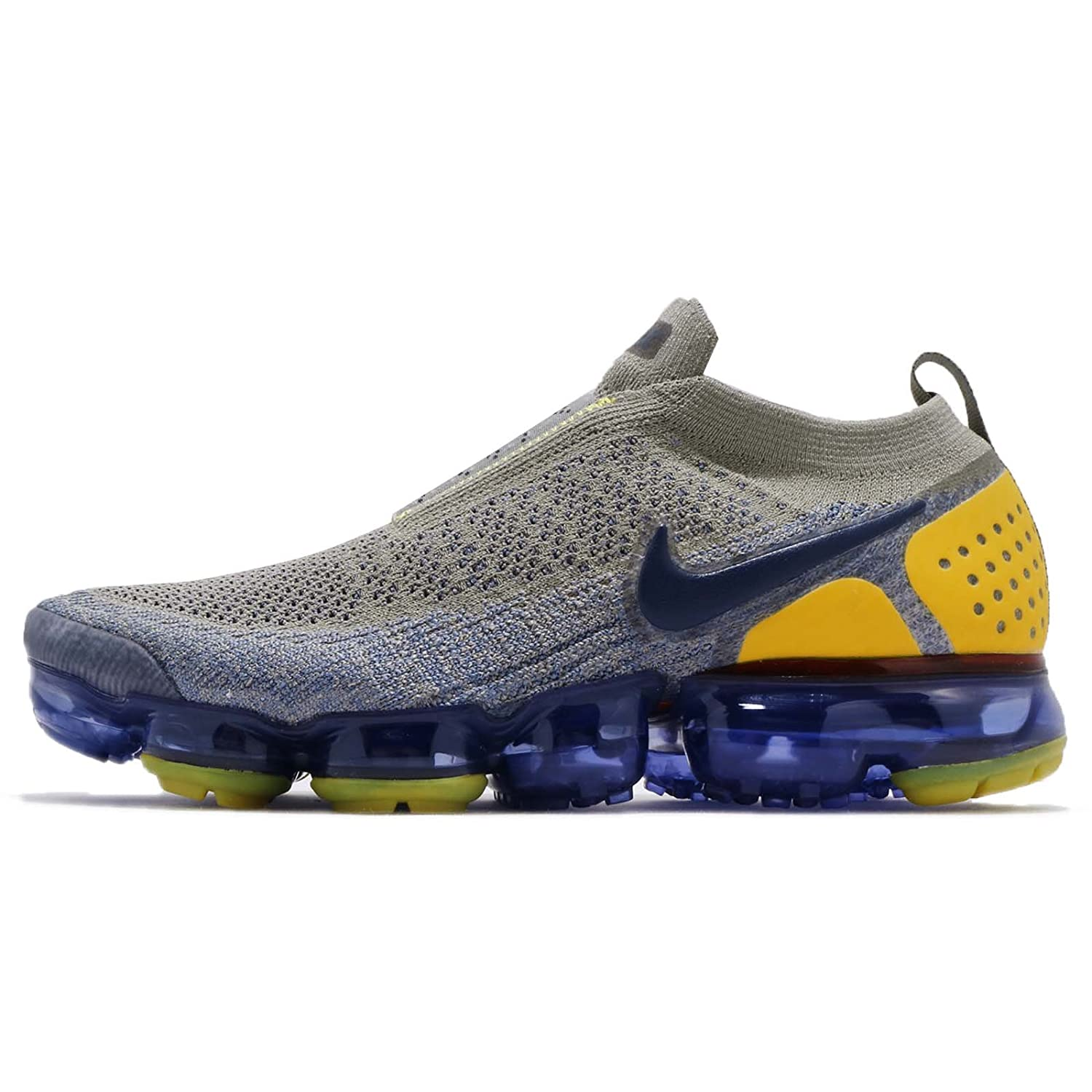 5f279433e175b Amazon.com | Nike Men's AIR Vapormax FK MOC 2, Dark Stucco/Midnight Navy,  10 M US | Running