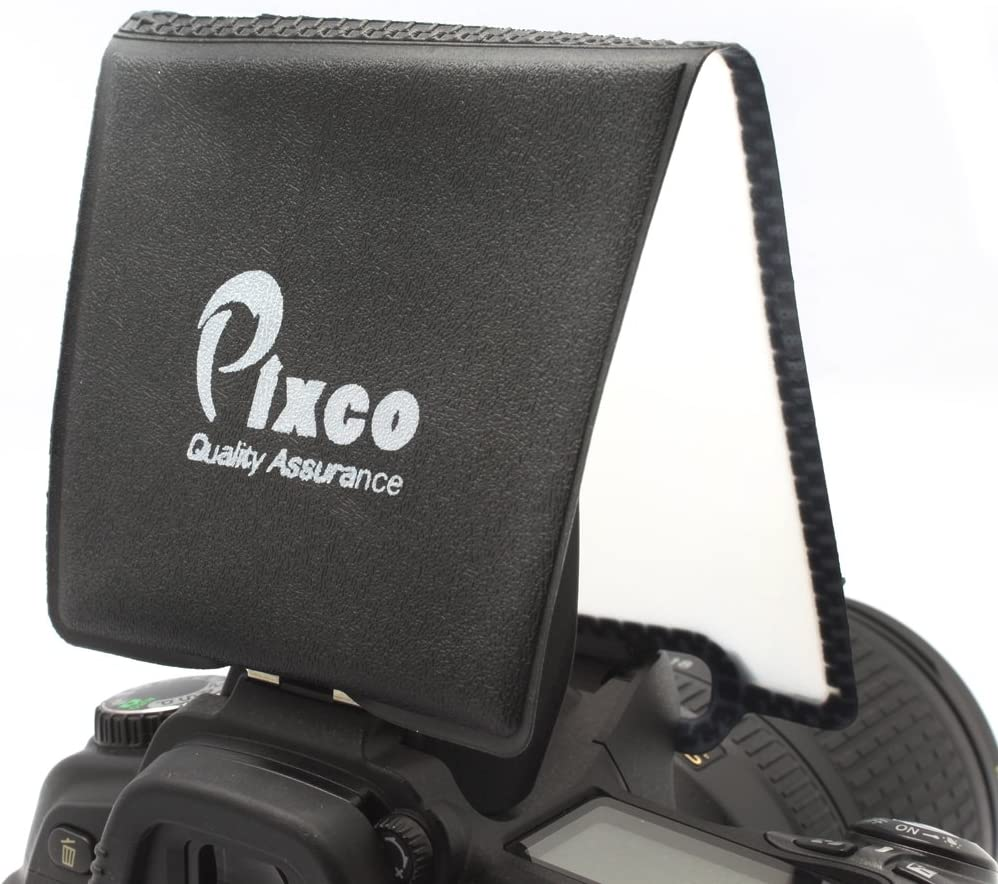 Pixco Pop-up Universal Flash Diffuser Softbox Cover FD-15 for Canon Nikon