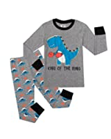 com dolphin fish pajamas space little boys pajamas sets big boys shark pajamas childrens clothes toddler pjs 100% cotton sleepwear pants set