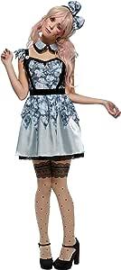 Smiffys Disfraz de Annie la muñeca Rota de Fever, Azul, Vestido ...