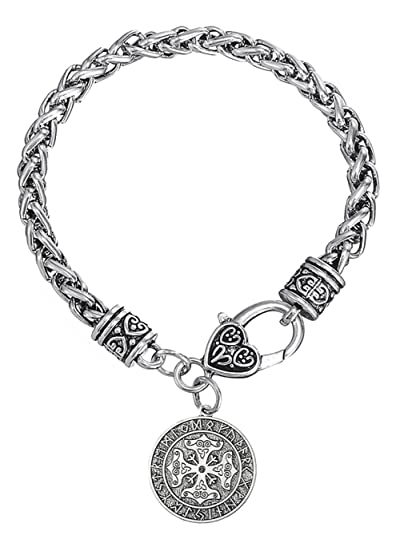 nouveau produit d76eb e2574 Dawapara Viking avec Croix Celtique Rune Calendrier Charms ...
