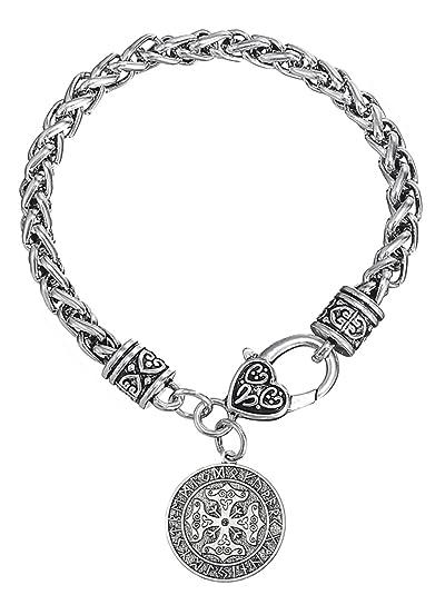 Vikings Calendrier.Dawapara Viking Avec Croix Celtique Rune Calendrier Charms