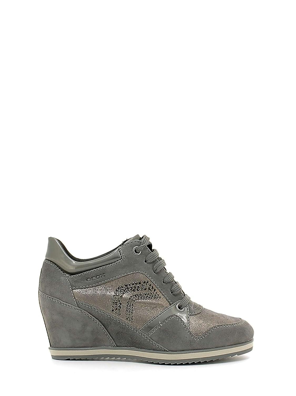 Geox D5454A0MA21 Sneakers Spaltleder Damen Spaltleder Sneakers Nd ba19bb