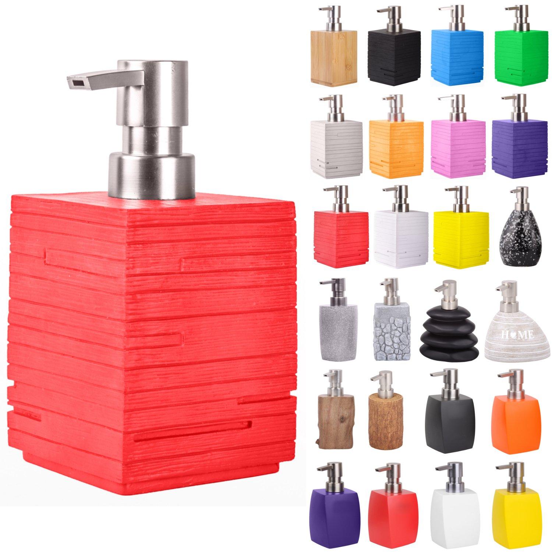 con stile Dosatore di sapone di prima qualit/à design elegante che attira lattenzione in ogni bagno Old Tree grande scelta