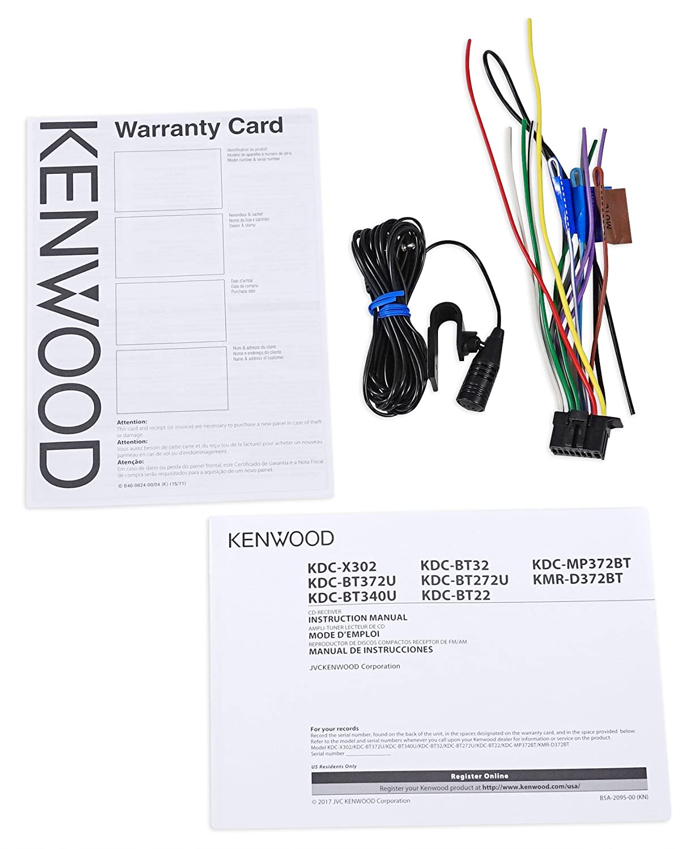 Kenwood Cd Receiver W Bluetooth Ipod Iphone Pandora For Radio Wiring Back 2003 06 Jeep Wrangler Tj Car Electronics