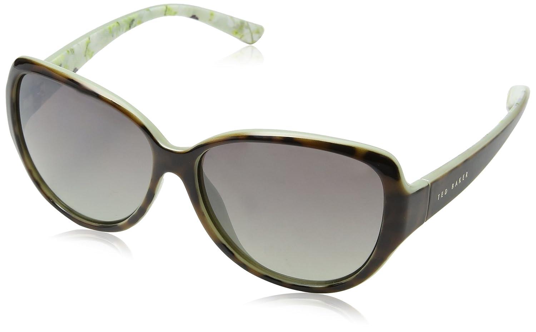 Ted Baker Shay Gafas de sol, Marrón (Tort/mint), 59 para ...