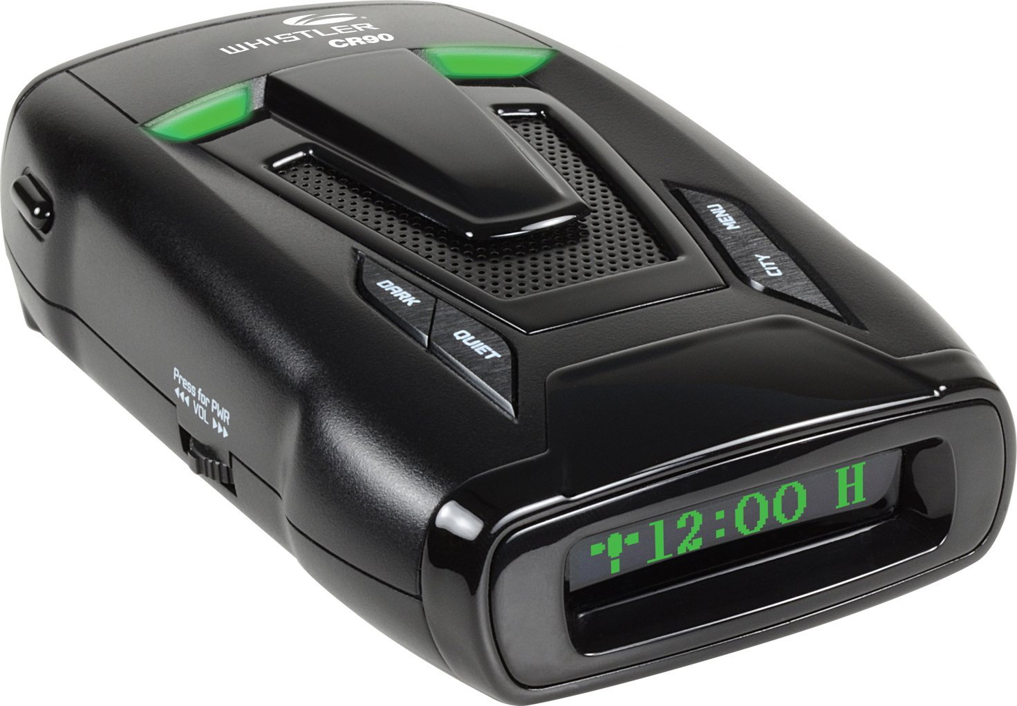 Whistler CR90 High Performance Laser Radar Detector: 360 Degree Protection, Voice Alerts, and Internal GPS /> <p style=