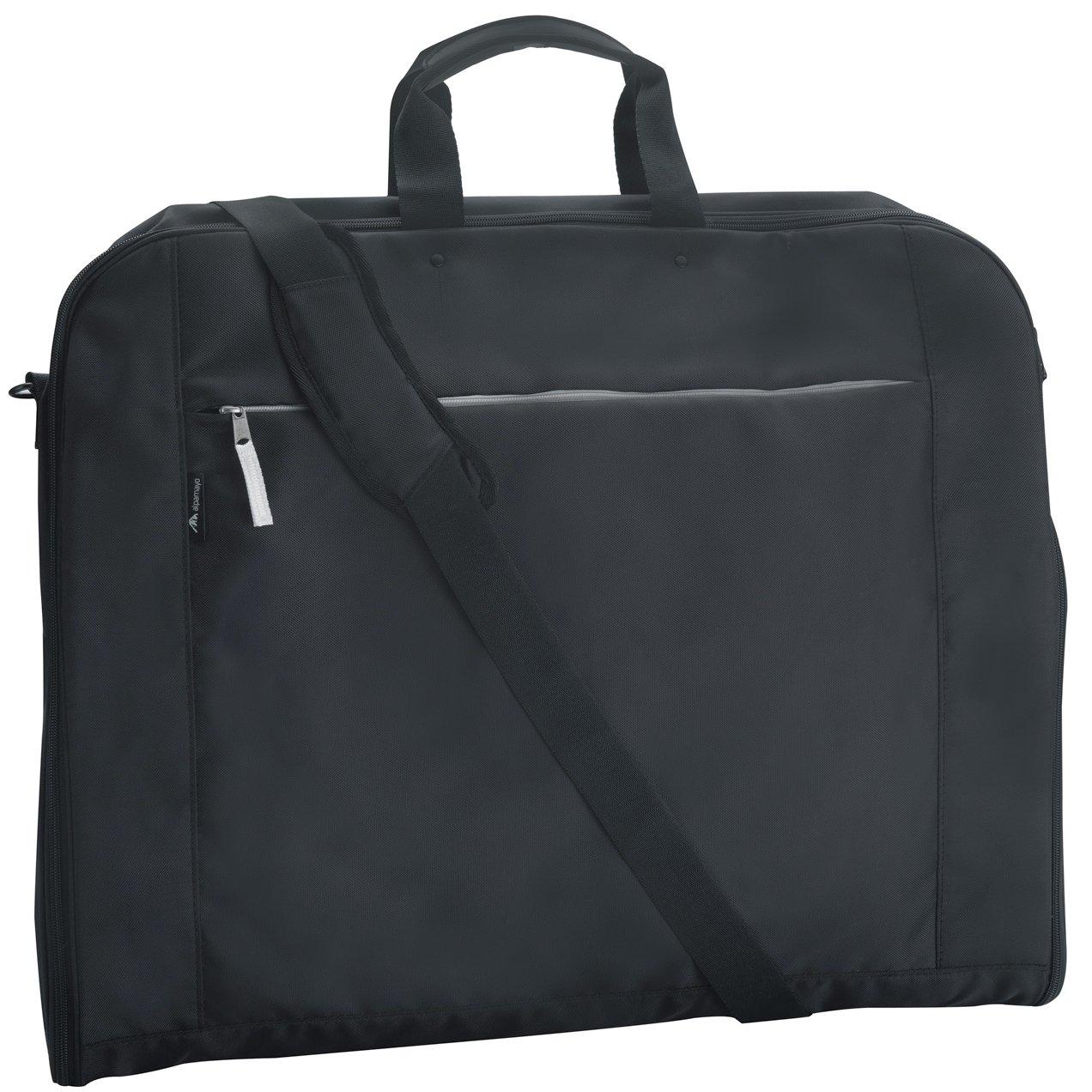 Alpamayo® borsa per abiti, sacca porta abiti con scomparto per laptop e tracolla, ideale per il trasporto senza pieghe di abiti quando si viaggia, come bagaglio a mano o in valigia ALP-GAB2