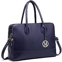 Miss Lulu Handbags for Women Laptop Shoulder Bags Cross Body Bag Ladies Fashion PU Leather Large Tote Bag
