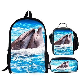2a4eadb68641 Freewander Casual Schoolbag Creative Personalized Animal Printed School  Backpack (ZUHE-1)