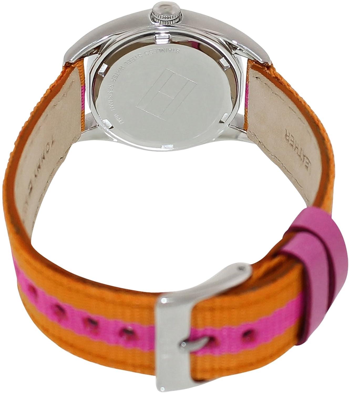 Amazon.com: Tommy Hilfiger Classic Pink & Orange Strap Womens watch #1781296: Tommy Hilfiger: Watches