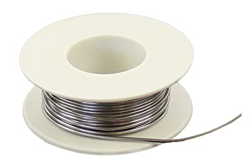 DKB Lötzinn 50 g auf Rolle Durchmesser 1 mm Lötdraht Zinnlot: Amazon ...