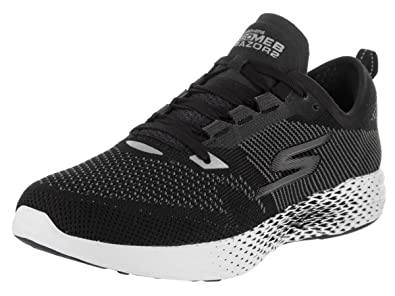 Skechers Women's Go MEB Razor 2 BlackWhite Running Shoe 8.5