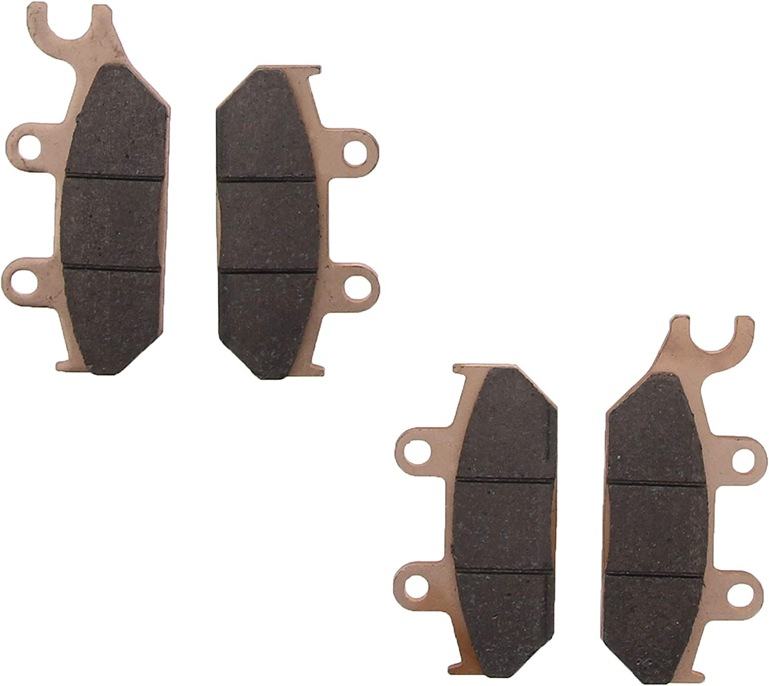 2015-2018 fits Can-Am Commander Max XT 1000 Front and Rear Mudrat Brake Pads