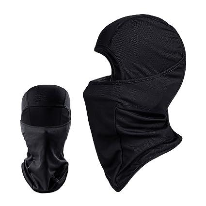 f764b37cc8b8 Amazon.com  Balaclava - Windproof Mask Adjustable Face Head Warmer ...