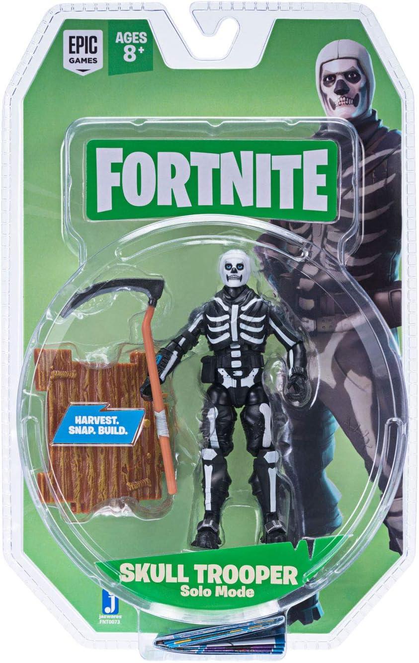 Toy Partner Figura FORTNITE Skull Trooper 10 CM. Serie 2 Incluye 1 Accesorio, EN Blister, Multicolor (FNT0073): Amazon.es: Juguetes y juegos
