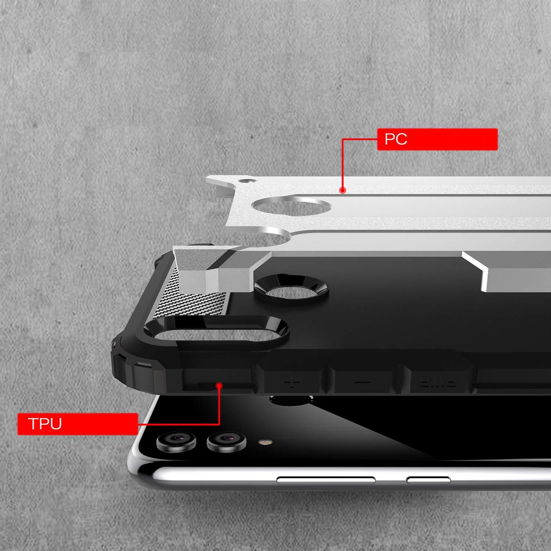 Amazon.com: Huawei Honor 8X Funda Silicona Suave TPU + PC ...
