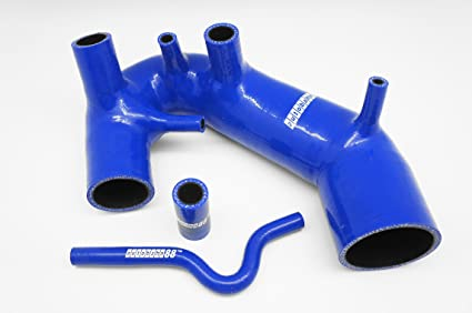 Autobahn88 Air Intake Silicone Hose Kit for 1996-2001 Audi A4 B5 1.8T AEB