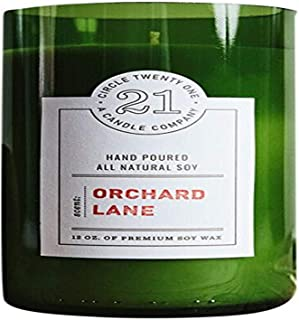 product image for Circle 21 Candles Orchard Lane Scented Soy Candle, Green
